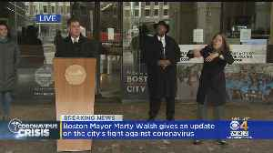 Coronavirus Fight: Boston Prepared To Use Fines & Police To Enforce Social Distancing, If Necessary [Video]