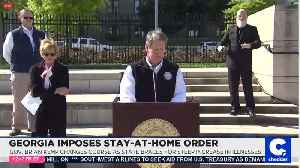 Georgia Imposes Stay-At-Home Order [Video]