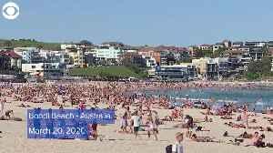WEB EXTRA: Australia's Bondi Beach Before And After Coronavirus Restrictions [Video]