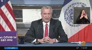Mayor Bill De Blasio Holds Briefing On Coronavirus Pandemic [Video]