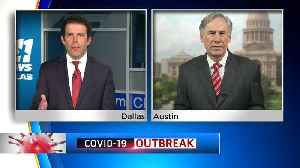 Coronavirus In Texas: Governor Greg Abbott Expects Cases, Deaths From COVID-19 To Continue Increase; Especially In Dallas [Video]