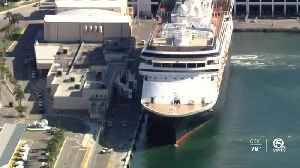 'Sick' cruise ship docks at Port Everglades in Fort Lauderdale, second ship coming in [Video]