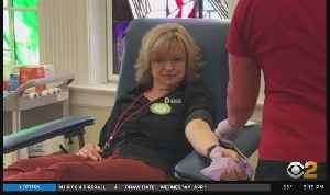Coronavirus Update: New Jersey Red Cross Calling For More Blood Donors [Video]