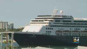 Holland America Cruise Ships Finally Make It To Port Everglades [Video]