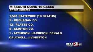 Missouri COVID 19 Cases (4-1-20) [Video]