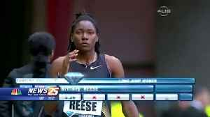 Brittney Reese finding silver lining after 2020 Olympic bid on pause due to COVID-19 [Video]