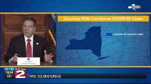 Number of coronavirus cases in NY nears 100K [Video]
