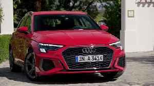 The new Audi A3 Sportback Design in Tango red [Video]
