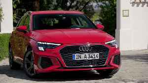 The new Audi A3 Sportback Exterior Design in Tango red [Video]