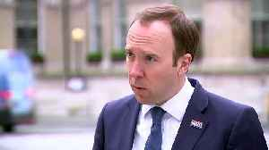 Matt Hancock: 5,000 NHS staff tested for COVID-19 [Video]
