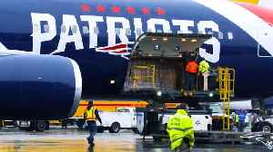 New England Patriots Plane Brings One Million Masks Home [Video]