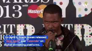 Frank Ocean Releases Two New Singles [Video]