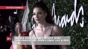 Nicola Roberts Deals With Pop Star Look [Video]