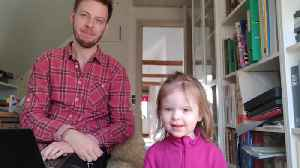Dad documents what it's like working from home with kids [Video]