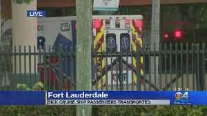 Critically Ill Zaandam Passengers Transported To Hospital [Video]