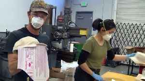 Small Berkeley Business Retools Operations to Build PPE [Video]