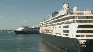 Sick Passengers On Holland America Cruise Ships Transferred To Local Hospitals [Video]