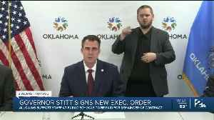 Gov. Kevin Stitt Signs New Executive Order [Video]