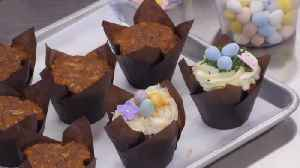 Simply Sweet makes carrot cake cupcakes at Ghiladolci Bakery [Video]