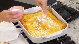 Simply Sweet makes carrot cake cupcakes, sangria and a german pancake for Easter [Video]
