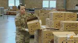 Pa. National Guard Helps Food Bank [Video]