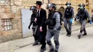 Israel's ultra-Orthodox communities 'ignoring' COVID-19 rules [Video]