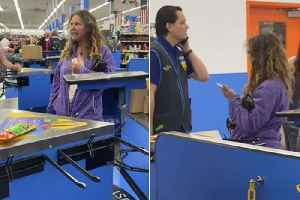 Disgusting: American woman coughs and spits on Walmart employee after causing a scene [Video]