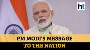 'Switch off lights, light candles at 9 pm on Sunday': PM Modi's video message amid lockdown [Video]