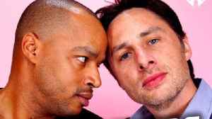 Zach Braff and Donald Faison using Scrubs podcast as 'love letter' to medical community [Video]
