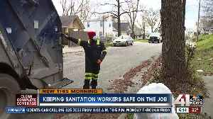 Keeping sanitation workers safe on the job [Video]