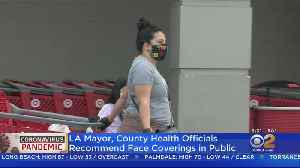All Southern Californians Now Being Urged To Wear Face Masks In Public [Video]