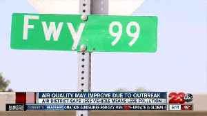 The Central Valley is seeing less air pollution amid the coronavirus outbreak [Video]