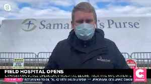 Field Hospital In Central Park Opens [Video]