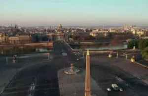 A bird's eye view of the Paris lockdown [Video]