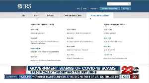 Government Warns of COVID-19 scams [Video]