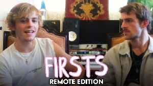 Ross and Rocky Lynch Share Their First Pet, Performance & More [Video]