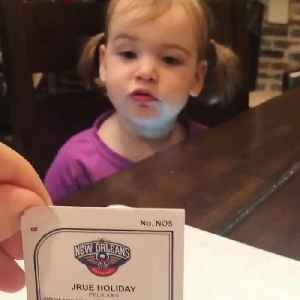 Young Pelicans fan practices player names in adorable video [Video]