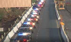 FALLEN HERO: Raw video of memorial procession for Santa Rosa Police Detective Marylou Armer [Video]