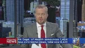 Pa. Dept. Of Health Announces More Than 1,400 New Coronavirus Cases [Video]