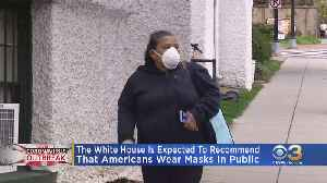 White House Expected To Recommend Americans Wear Masks In Public To Mitigate Spread Of Coronavirus [Video]