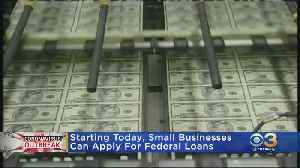 Coronavirus Latest: Small Businesses Can Apply For Federal Loans Starting Today [Video]