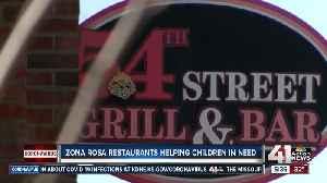 Zona Rosa restaurants helping children in need [Video]