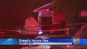 Man, Woman Found Dead In Burning West Covina Home [Video]