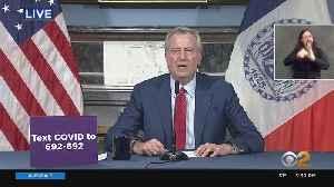 Mayor Bill de Blasio Gives Coronavirus Update [Video]