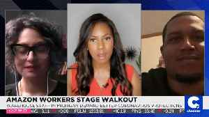 Amazon Workers Stage Walkout [Video]
