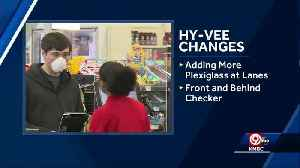 Hy-Vee adding directional signs in aisles, adding more protective windows [Video]
