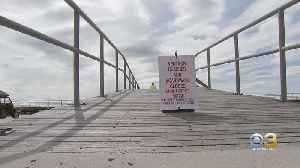 Ventnor Closes Beach, Boardwalk Until Further Notice Due To Coronavirus Concerns [Video]