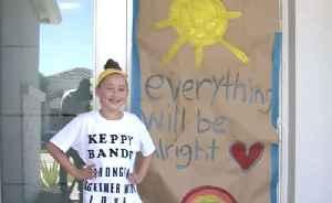 Boca Raton girl uses creativity to inspire health care workers during coronavirus pandemic [Video]