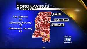 181 new coronavirus cases, 3 new deaths reported Friday in Mississippi [Video]