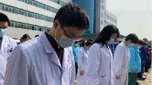 China Has Day Of Mourning For Coronavirus Deaths [Video]